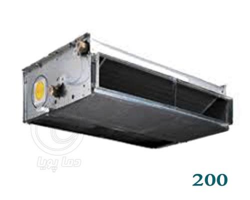 فن کویل سقفی تهویه 200