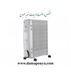 رادیاتور برقی میدیا 11 پره مدل NY23EC-11L