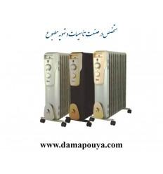 رادیاتور برقی میدیا 11 پره مدل NY2311-16JA