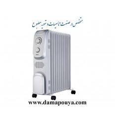 رادیاتور برقی سام 13 پره مدل EH-1313W