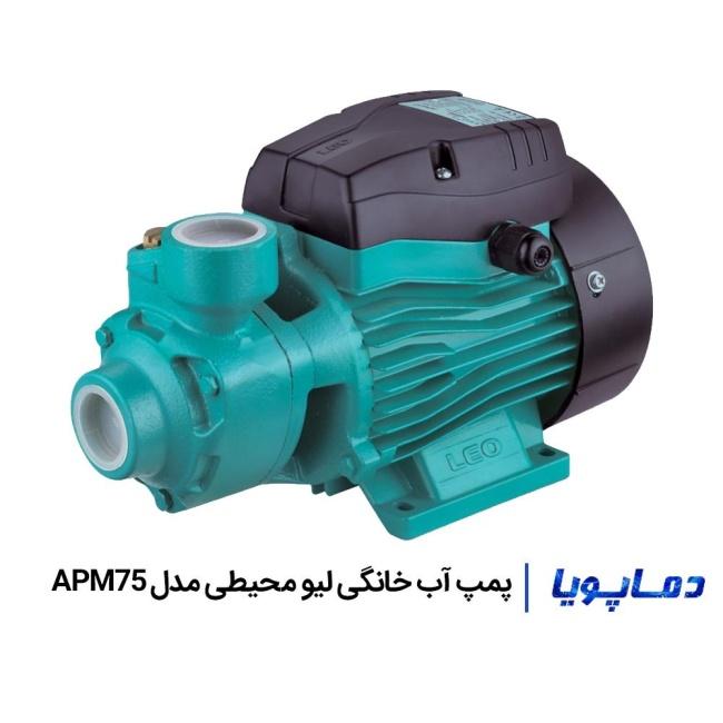پمپ آب محیطی لیو مدل APM75