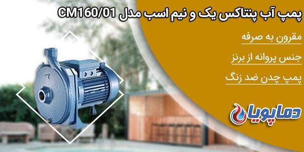 خرید پمپ بشقابی پنتاکس مدل CM160/01