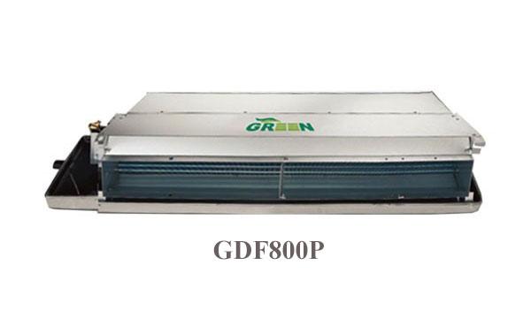 فن کویل سقفی توکار 800 گرین