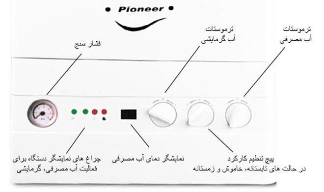 پکیج گلد ایران مدل 26000 FW